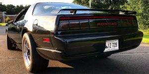 1991 Firebird Rear End Close