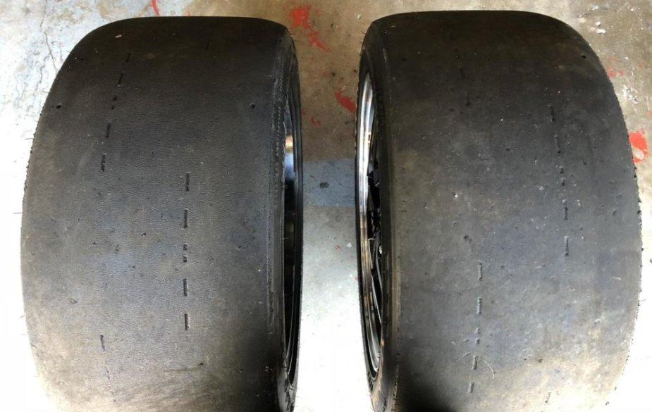 Corvette Hoosier DR2 Tires