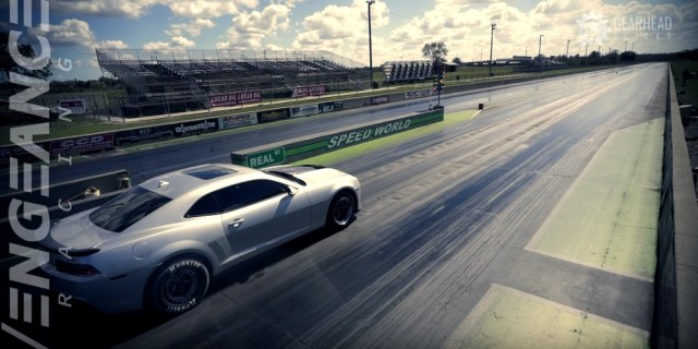 Vengeance Racing Camaro ZL1 Stage 4X Drag Race