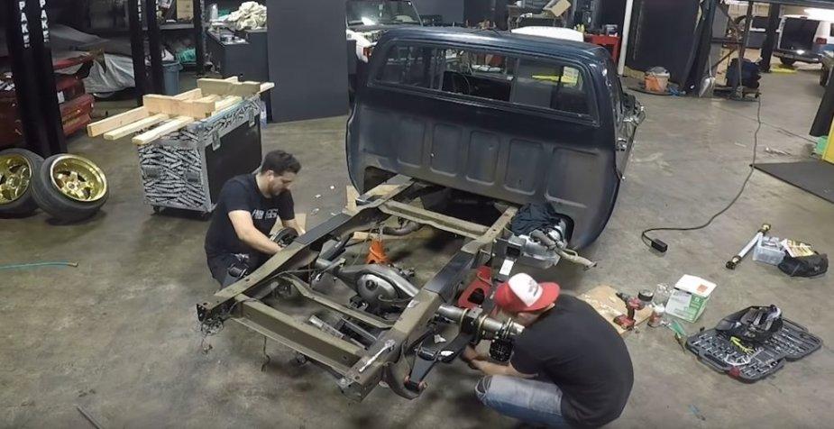 C10 Rear Build