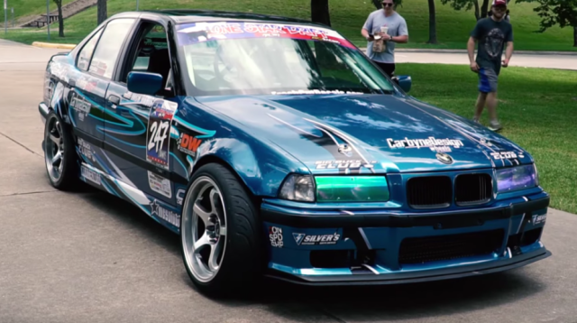 Supercharged LS2 swapped BMW E36 Drift Build