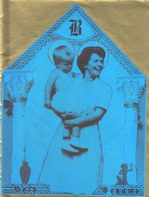 Madonna and child invite, 1975