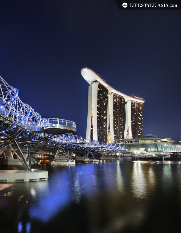 Marina Bay Sands Night View_E