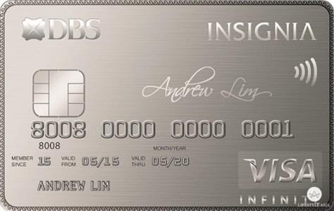 DBS Insignia Visa Infinite Card copy