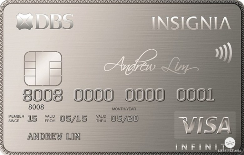 DBS Insignia Visa Infinite Card copy