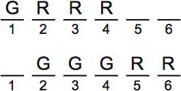 LSAT PrepTest 63, Section II, Logic Games, Question 23