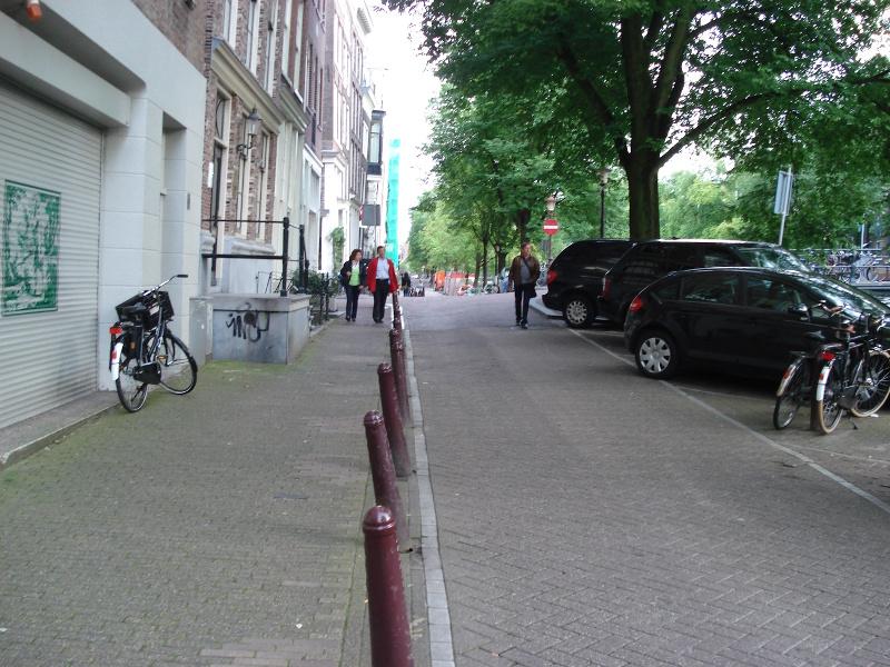Amsterdam wieczorem 11 sierpnia 2008