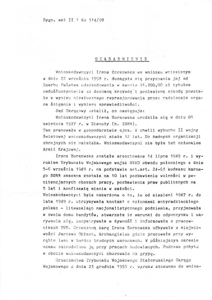 Wyrok Sądu Okręgowego w Olsztynie 20 marca 2000 strona 2/5