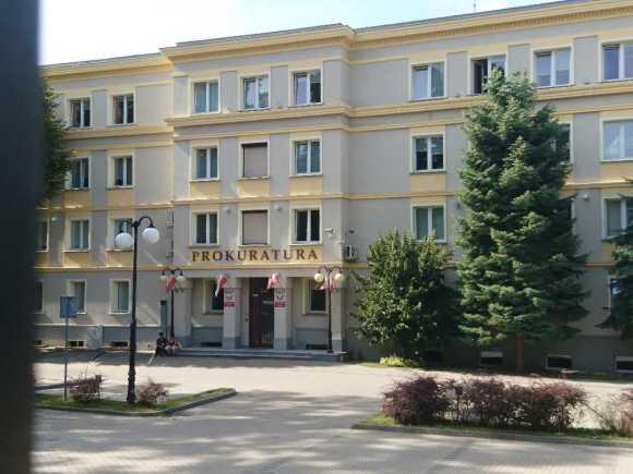 Budynek Prokuratury w Zielonej Górze.