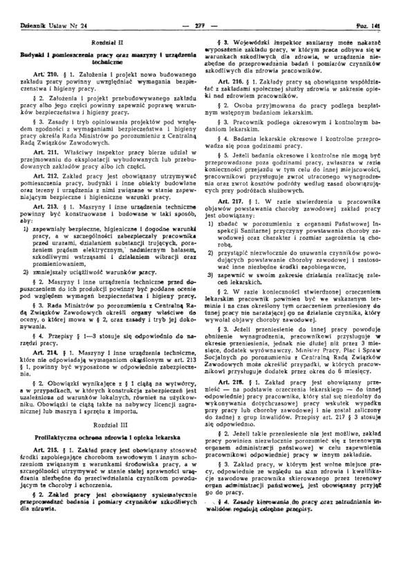 Kodeks Pracy 1974, strona 21