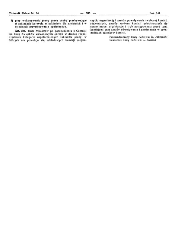 Kodeks Pracy 1974, strona 29