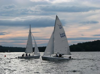 Lake Sunapee Sailing Day