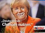Wahlplakate...