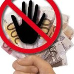 Finger weg von fremdem Geld