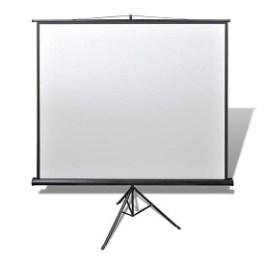 Ecran projection enroulable