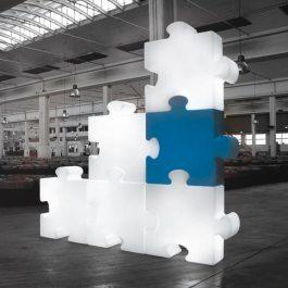 Bloc lumineux puzzle