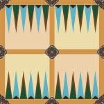 Backgammon Board Step 7