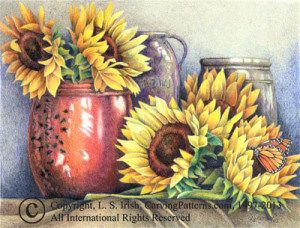 Working in Colored Pencil Layer