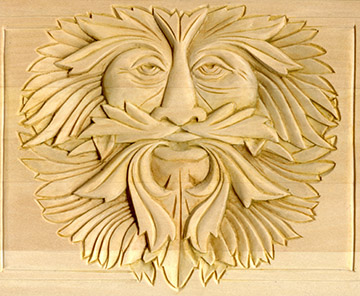 Background treatments for your relief wood carving patterns by l s