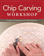Chip Carving Workshop by Lora S Irish