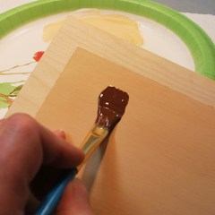 How to paint your wood carvings, taught by Lora Irish