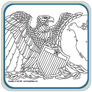 American Eagle Mantel Patterns by Lora Irish
