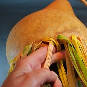 how to braid raffia