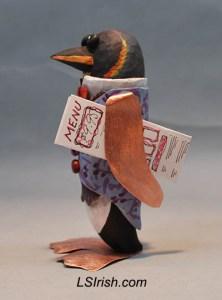 penguin bird decoy