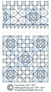 practice pattern for chip carving