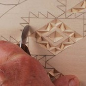 cutting straight-wall chips in chip carving