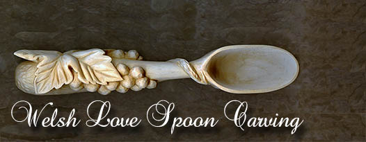 Welsh Love Spoon Carving