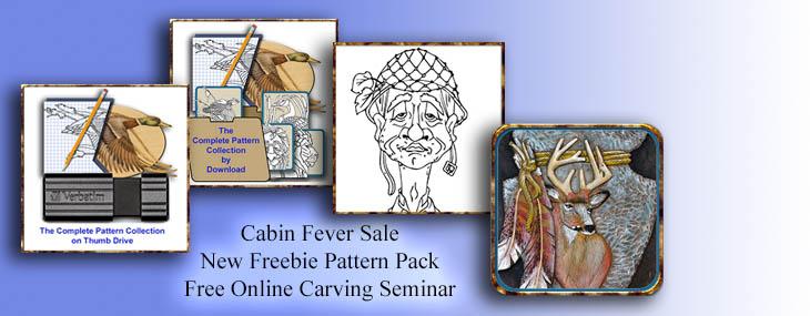 free carving seminar by Lora Irish
