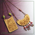 pyrography leather jewelry