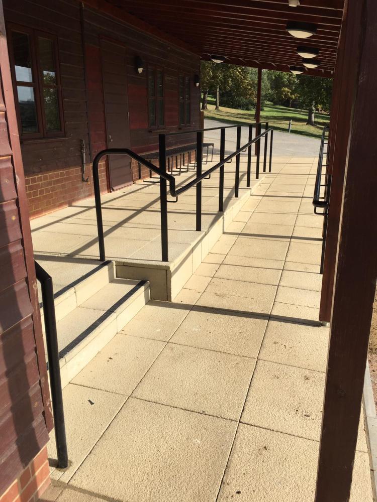 railing Harrow School