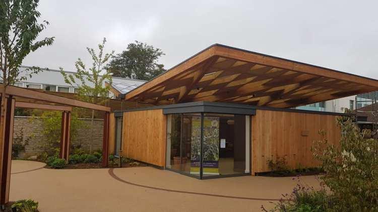 Horatio's Garden completed exterior