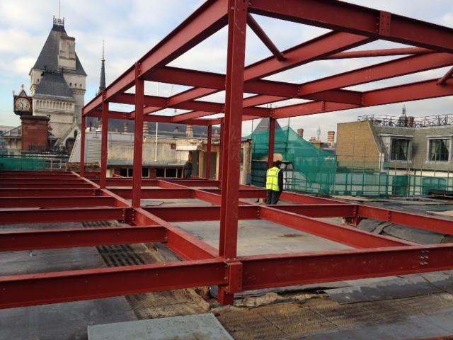 extra floor added to Legalease, Fleet Street, London