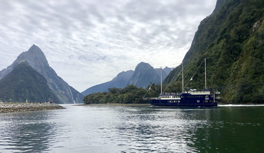Milford Sound cruise view, Fiordland, New Zealand