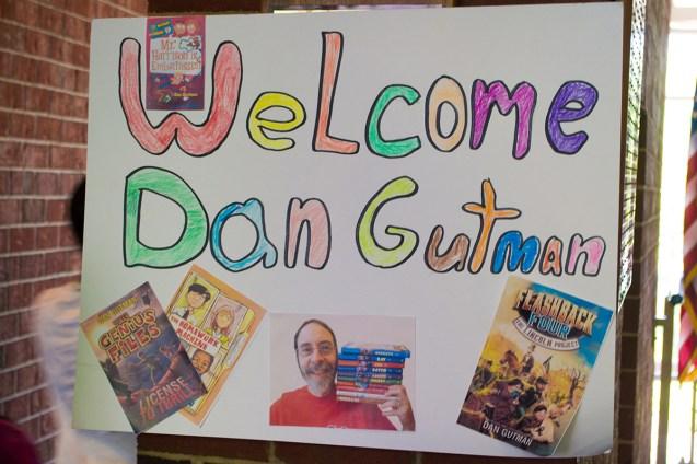 20170517-LS Visiting Author Dan Gutman-1