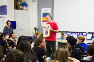 20170517-LS Visiting Author Dan Gutman-16 (1)