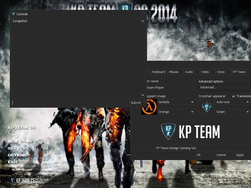 Counter Strike 1.6 – KP Team + UCP