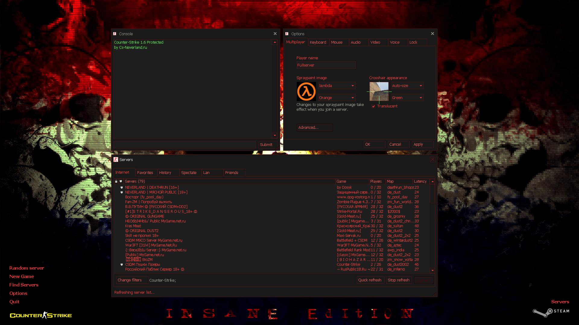 Counter Strike 1.6 – Insane