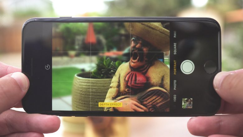 "Here's how it works ""Portrait Mode"" in iPhone 7 Plus"