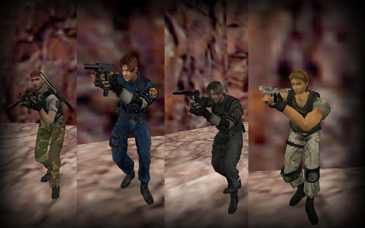 Resident Evil Models