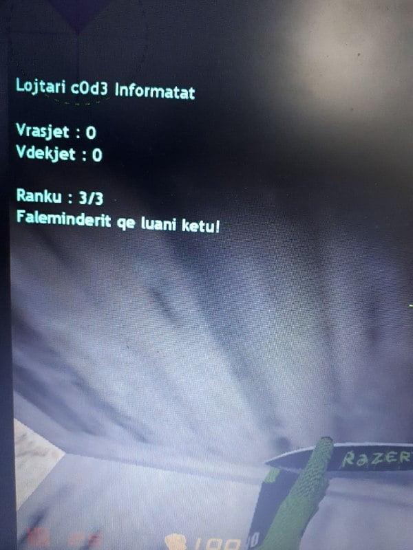 Informatat e Lojtarit