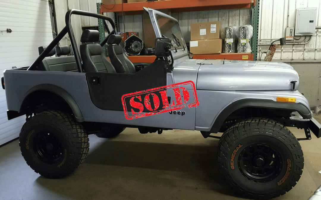 1984 Jeep CJ-7 4×4 w/ LS series engine