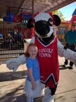 J loves the kiddo cow