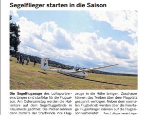Tipps und Termine Lingener Tagespost v. 16.04.14