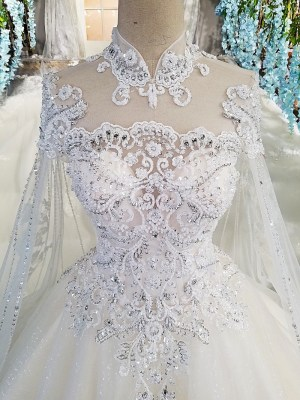 High Ball gown Wedding Dress 2018