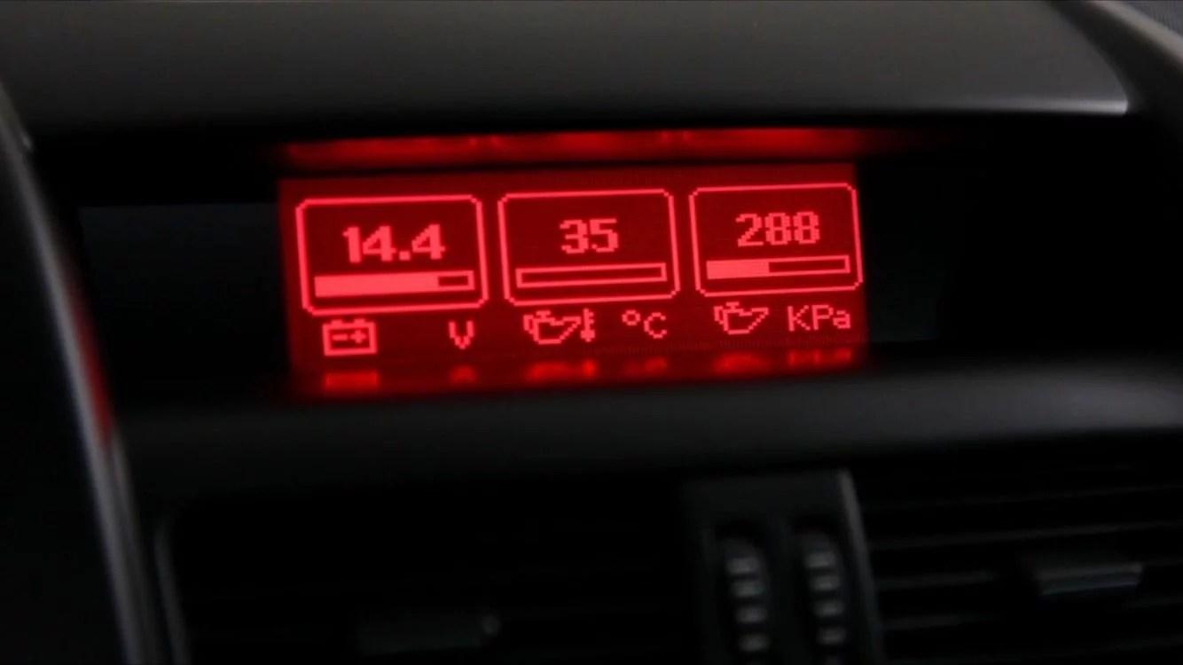 VE Series 1 Triple Gauge Display Module on