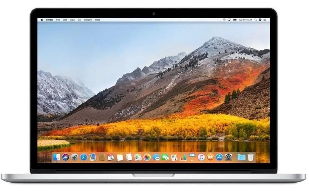 Apple MacBook Pro 13.3 Retina (MPXR2ZE/A) EN